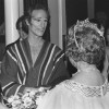 Peter Sparling on tour with the Martha Graham Company, meeting the Queen Mother, Covent Garden (1979).